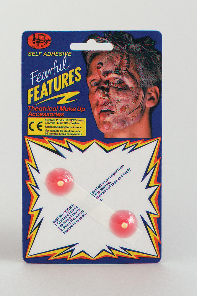 Boils 2 In Packet SFX Makeup Accessory for Witch Warts Fancy Dress SFX Makeup