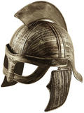 Spartan or Gladiator Helmet Hat for Roman Film Outfit Accessory Adult Size