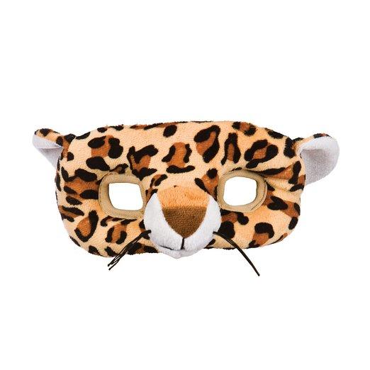 Adults Unisex Mask Leopard for Spotty Cat Jungle Animal Fancy Dress