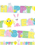 New Happy Easter Banner for Easter Bunny Rabbit Party Decorations & Accessories