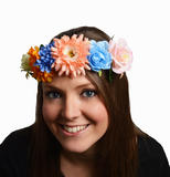 Ladies Luxury Floral Flowered Headband for Womans Hawaiian Easter Fancy Dress Up