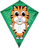 Jungle Tot Tiger Kite for Kids Animals Outdoor Camping Beach Sports Games & Gift