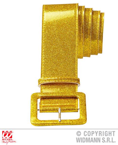 Glitter Belt 120cm Belt Braces for 60s 70s 80s Fancy Dress Accessory