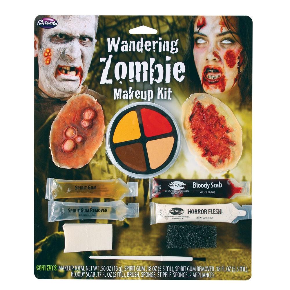 Wandering Zombie Kit Makeup for Halloween Living Dead Cosmetics
