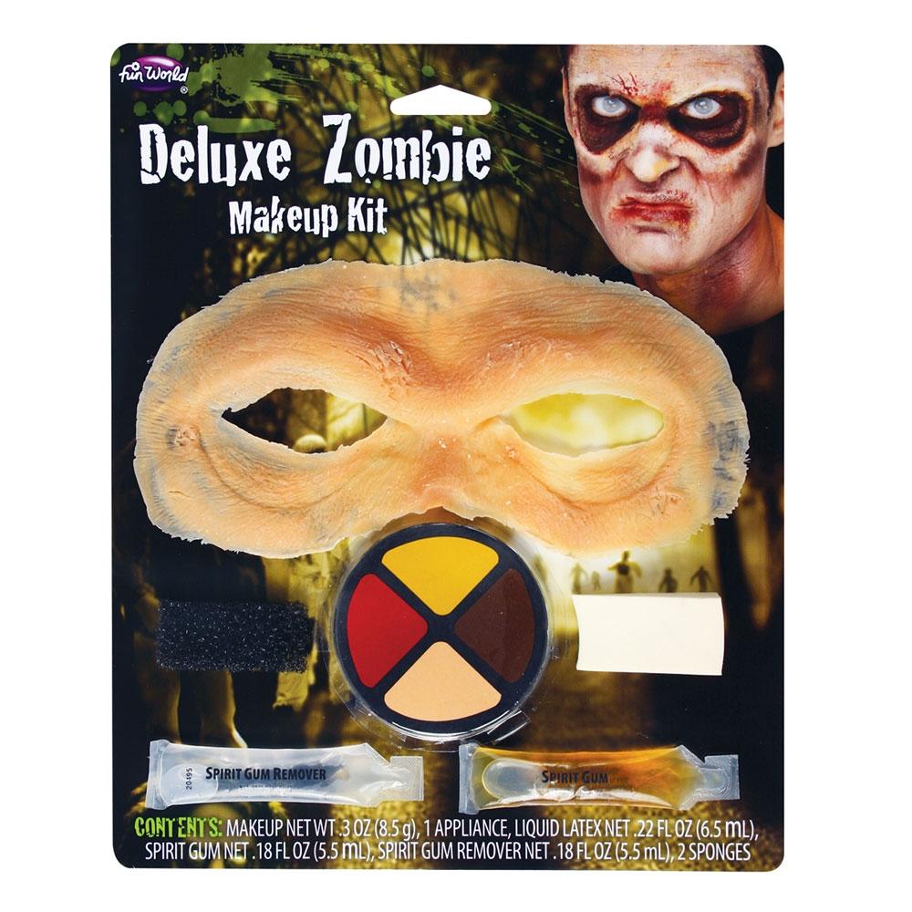 Deluxe Zombie Kit Makeup for Halloween Living Dead Cosmetics