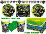 Teenage Mutant Ninja Turtle Party Package for 16+ Kids Birthday Sets & Supplies