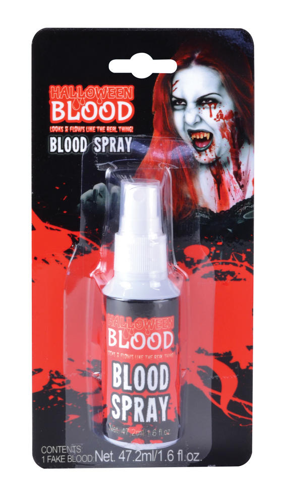 Bloody Spray Blister Carded Face Body Paint for Halloween Makeup SFX