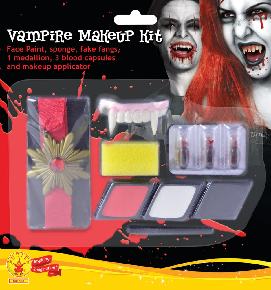 Vampire Make Up Kit Face Body Paint for Halloween SFX