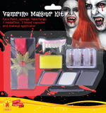 Vampire Make Up Kit Face Body Paint for Halloween SFX
