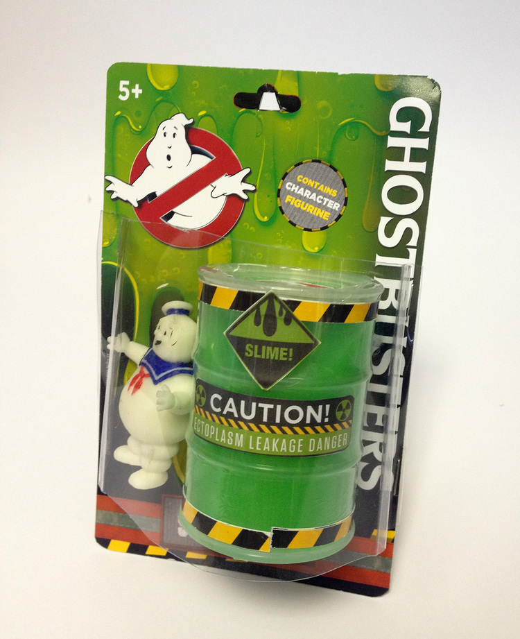 Kids Ghostbuster Slime Ooze Gel with Figurine for Boys ...