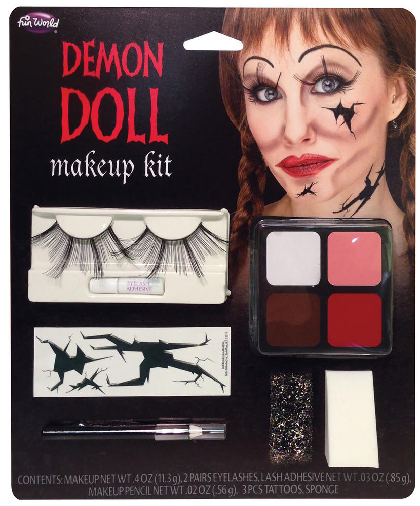Demon Doll Makeup Kit Face Body Paint for Halloween SFX