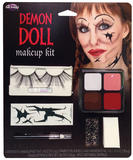 Demon Doll Makeup Kit Face Body Paint for Halloween SFX