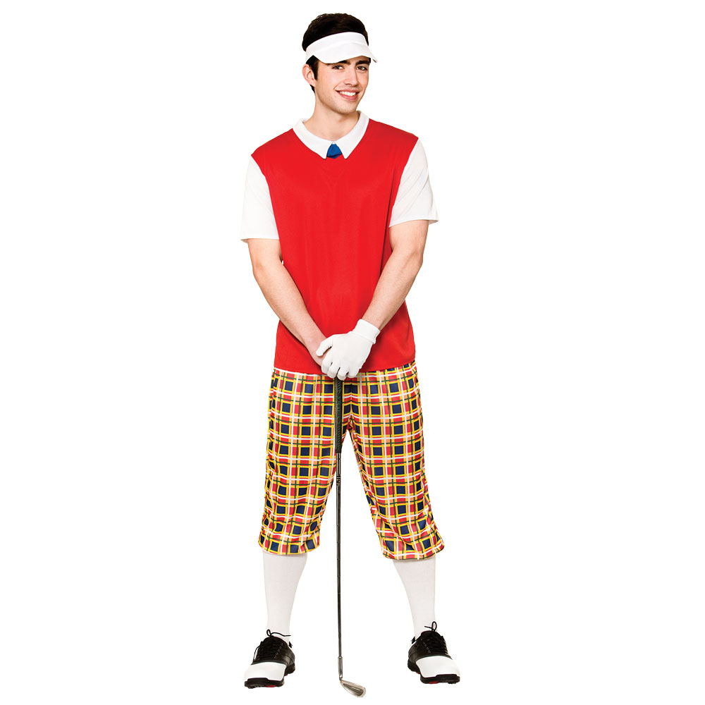 Mens Funny Pub Golfer Costume for Sport Fancy Dress Cosplay Outfit | eBay