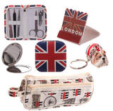 Union Jack gift set in a pencil case girls ideal christmas or birthday present