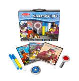 Childrens Spy Investigator Secret Decoder Deluxe Activity Set & Super Sleuth Toy
