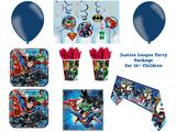 Justice League Superhero Party Package for Childrens Birthday Party Decorations