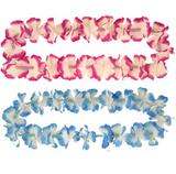 12 Deluxe Hawaiian Lei's for Mens Ladies Summer Tropical Fancy Dress Accessories