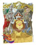 Boys & Girls Birthday Card Wizard Of Oz Dorothy 3D Swing Pop Up Greeting Card