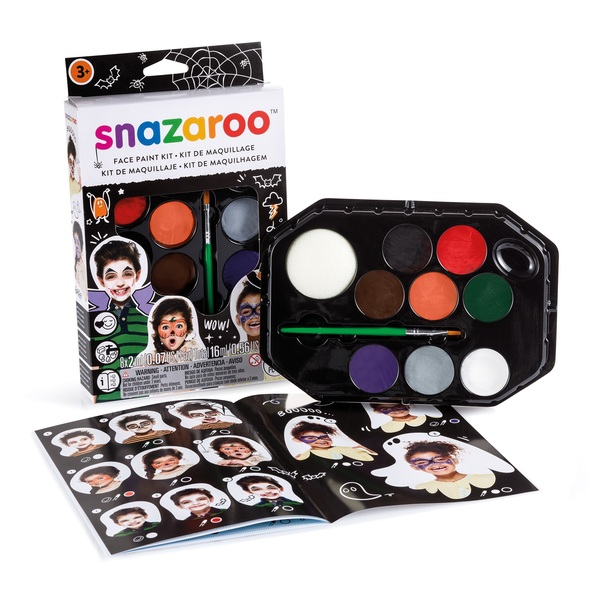 HALLOWEEN FACE PAINTING KIT SNAZAROO Accessory for Trick Or Treat Fancy Dress