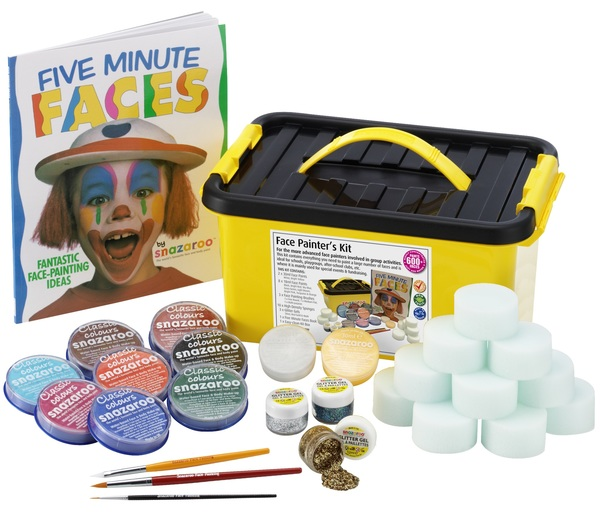 FACE PAINTERS KIT Accessory for Fancy Dress