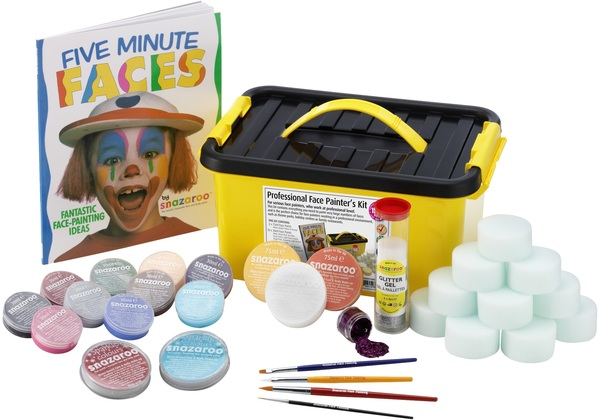 PROFESSIONAL FACE PAINTERS KIT Accessory for Fancy Dress