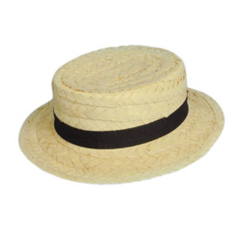 Hat Straw Boater for Fancy Dress Party Accessory