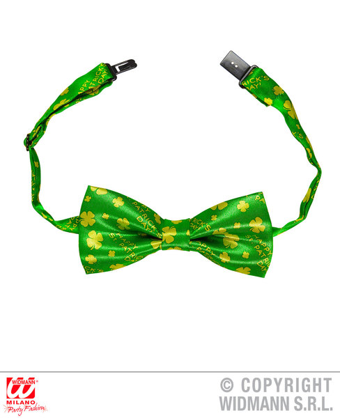 ST. PATRICK'S DAY BOW TIE Adjustable satin for Irish Ireland St Paddy's Party
