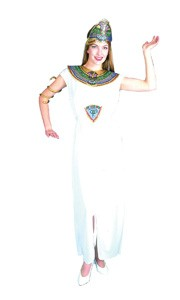 Ladies Fancy Dress Outfit Costume Cleopatra Egyptian Ancient Egypt
