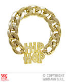Hip-Hop Bracelet Accessory for 80s 90s Fancy Dress Cosplay Outfit