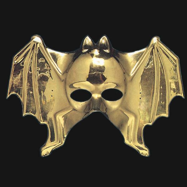 Mask Face Golden Bat shape Face Body Paint Makeup