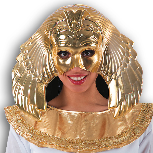Mask Face Golden Cleopatra Face Body Paint Makeup