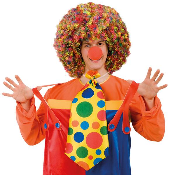Tie Clown Giant 55cm in Clear Bag Necktie Accessory