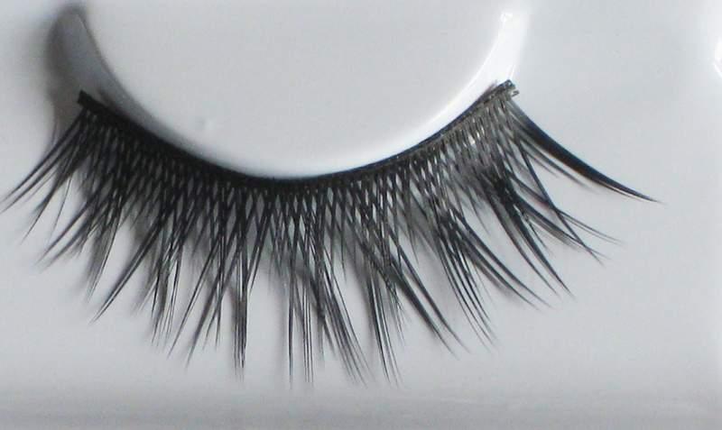Eye Lash set Crossed Unsteady Black Cosmetics Makeup