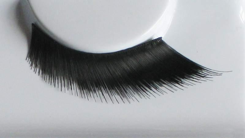 Eye Lash set Diagonal Stand Tight Black Cosmetics Makeup