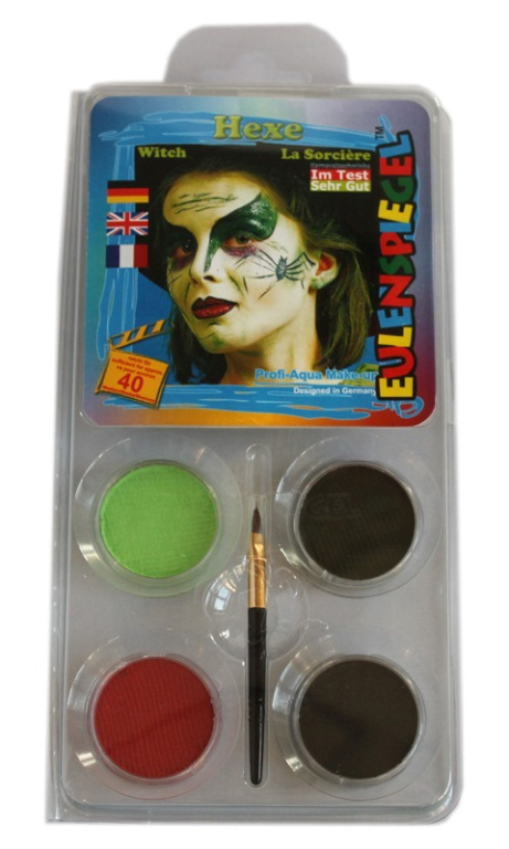 Designer A Face Pack Witch Halloween Face Body Paint Makeup
