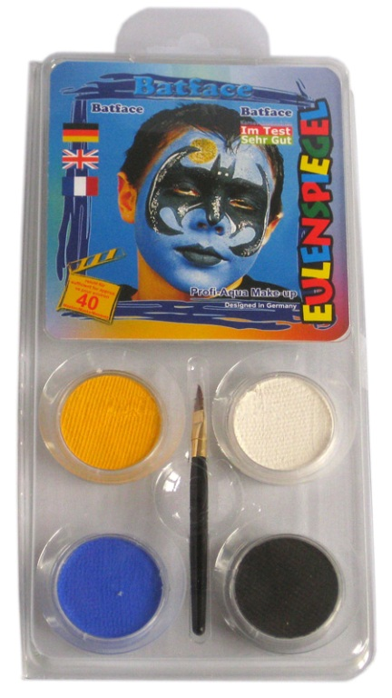 Designer A Face Pack Batface Face Body Paint Makeup