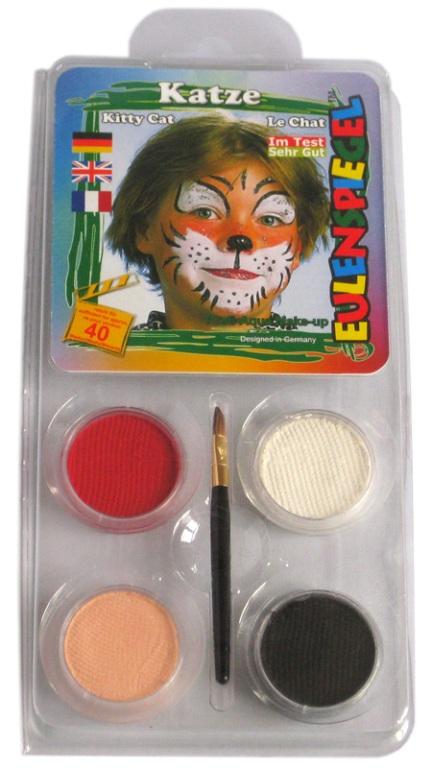 Designer A Face Pack Cat Face Body Paint Makeup