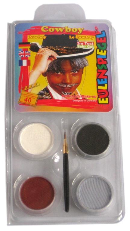 Designer A Face Pack Cowboy Face Body Paint Makeup