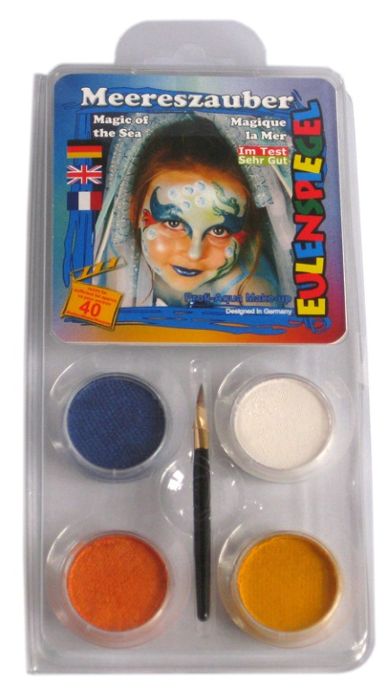 Designer A Face Pack Magic of the Sea Face Body Paint Makeup Fancy Dress