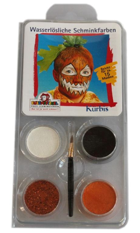 Designer A Face Pack Pumpkin Halloween Face Body Paint Makeup