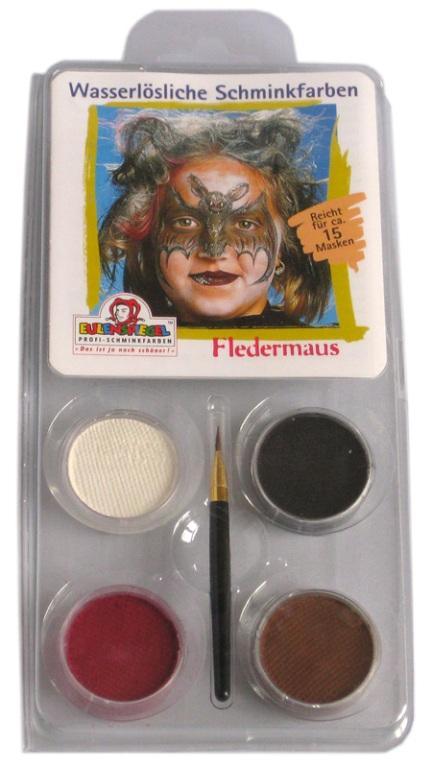 Designer A Face Pack Bat Face Body Paint Makeup