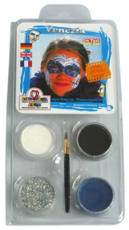 Designer A Face Pack Venezia Face Body Paint Makeup Fancy Dress