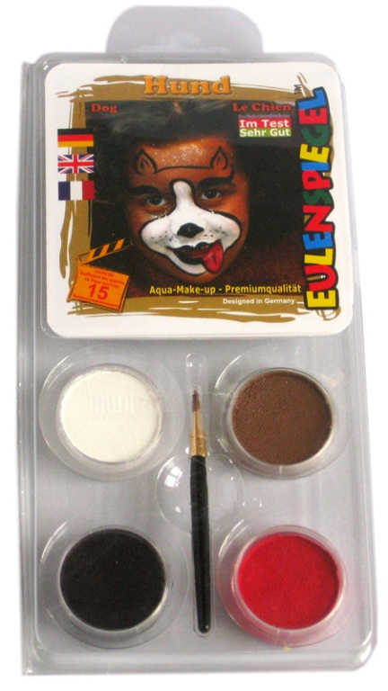 Designer A Face Pack Dog Face Body Paint Makeup