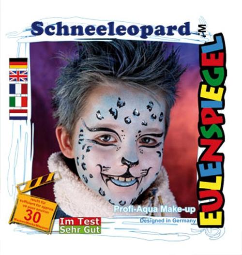 Designer A Face Pack Snow Leopard Christmas Face Body Paint Makeup