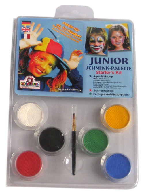 Designer A Face Pack Junior Make-up Palt Face Body Paint Makeup Fancy Dress