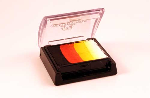 Rainbow Split Cake 6 ml - Flame Face Body Paint Makeup