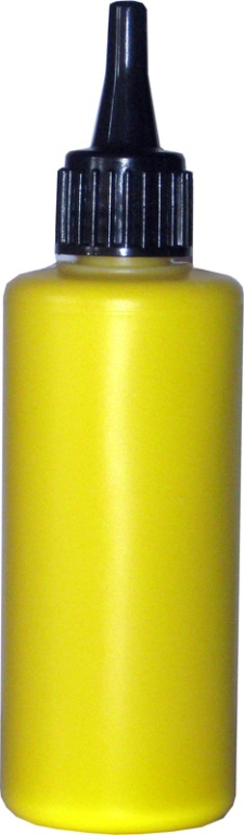 Airbrush Paint Star Yellow Sun - 30ml Face Body Paint Makeup