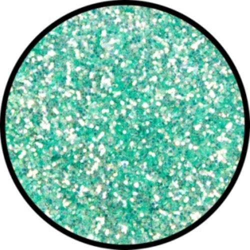 Glitter - Green Frosted 6gram Pot Cosmetics Makeup