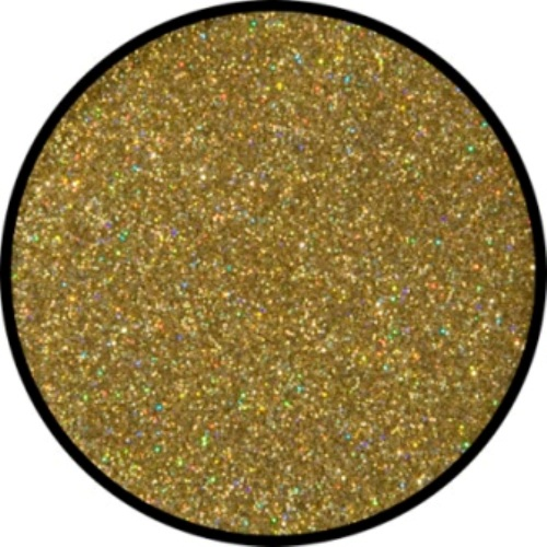 Glitter - Holographic Jewel Golden fine Cosmetics Makeup