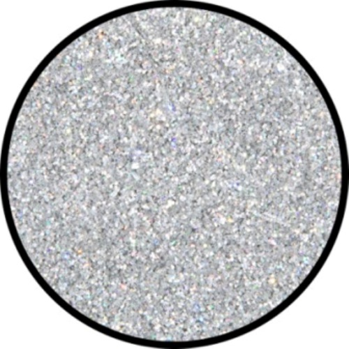 Glitter - Holographic Jewel Silver Fine Cosmetics Makeup
